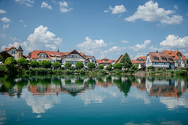 The Seehotel Niedernberg - pure relaxation in the village by the lake