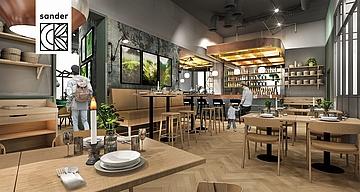 Restaurant sander kommt ins MyZeil