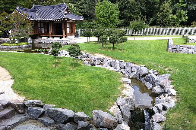 Reconstruction of the Korean Garden in Grüneburgpark is approved