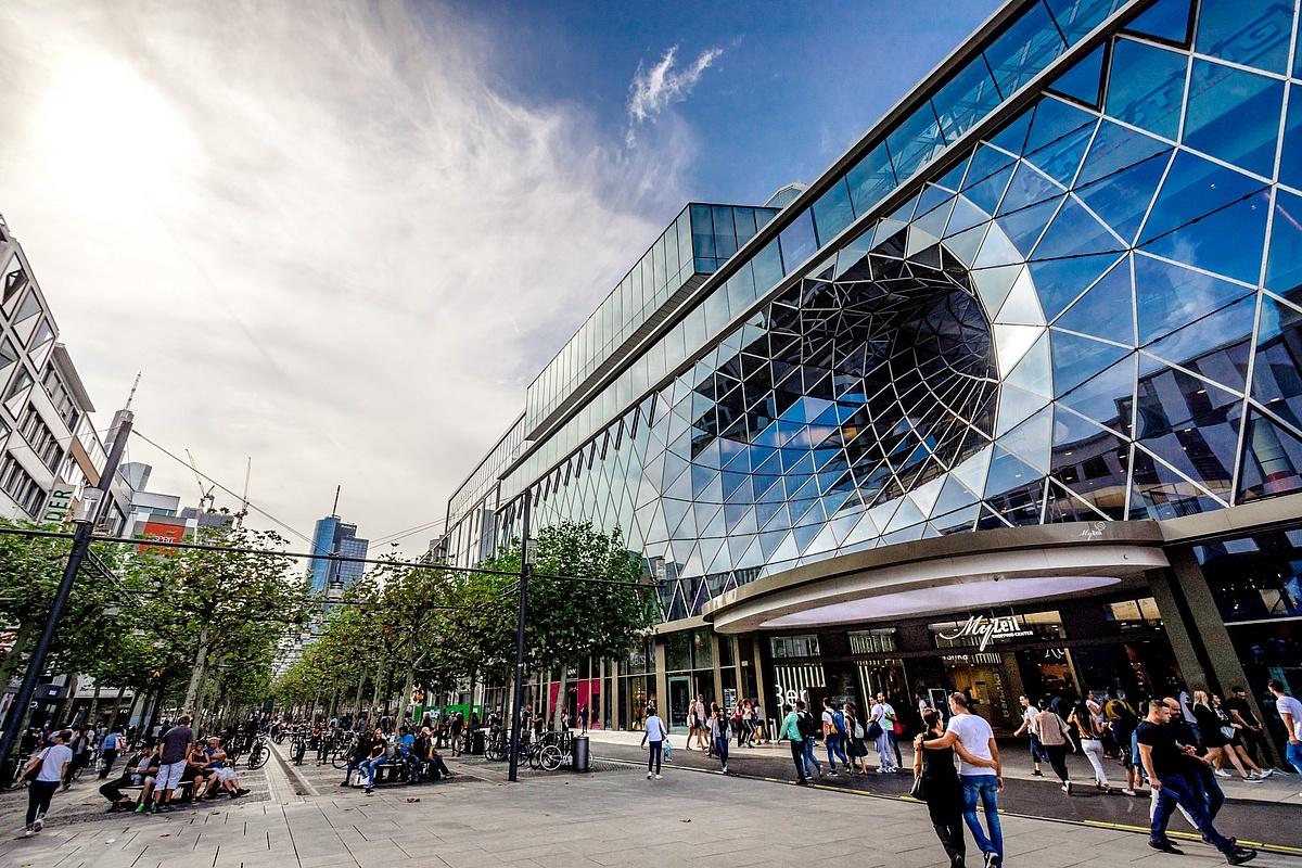 Frankfurt Main Shopping