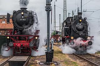 Dampflokfest im Eisenbahnmuseum