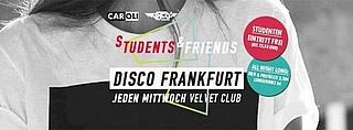 Disco Frankfurt Students & Friends