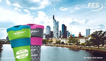 Initiative cup2gether - Frankfurt bekommt ein stadtweites Mehrwegbecher-Pfandsystem