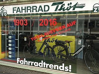 FAHRRAD THÖT - A traditional shop closes down