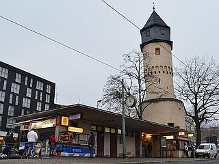 Sperrungen in der Mainzer Landstraße