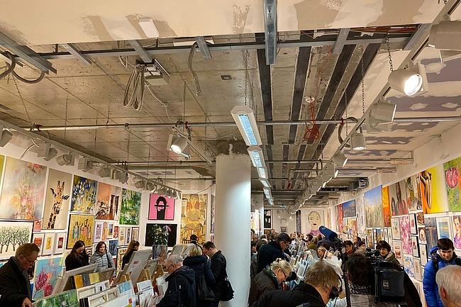 Der 21. Frankfurter Kunstsupermarkt – Geschenkideen der besonderen Art