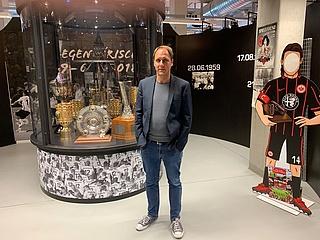 Das Eintracht Frankfurt Museum öffnet am 4. Juli wieder für Besucher