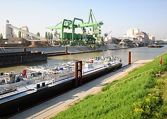 The Port of Frankfurt remains on course due to trimodal connection