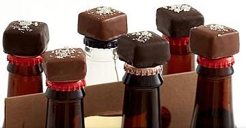 Bier trifft auf Schokolade