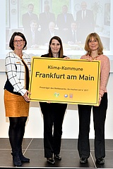 Frankfurt am Main and Regional Association win the Hessian Climate Protection Special Award