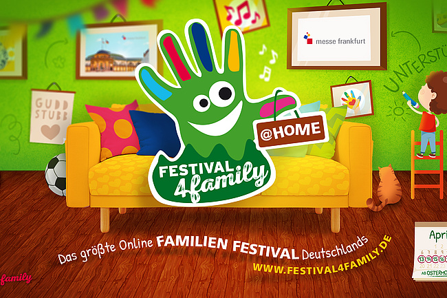 Festival4Family @home – Das Familienfest wird digital