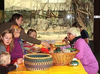 Adventsbasteln im Zoo