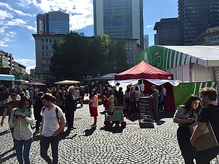 Grüne Soße Festival macht den Roßmarkt zur grünen Meile