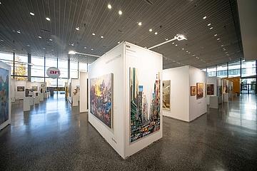 The Frankfurt art fair DISCOVERY ART FAIR wants to make art experienceable again