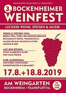 3. Bockenheimer Weinfest