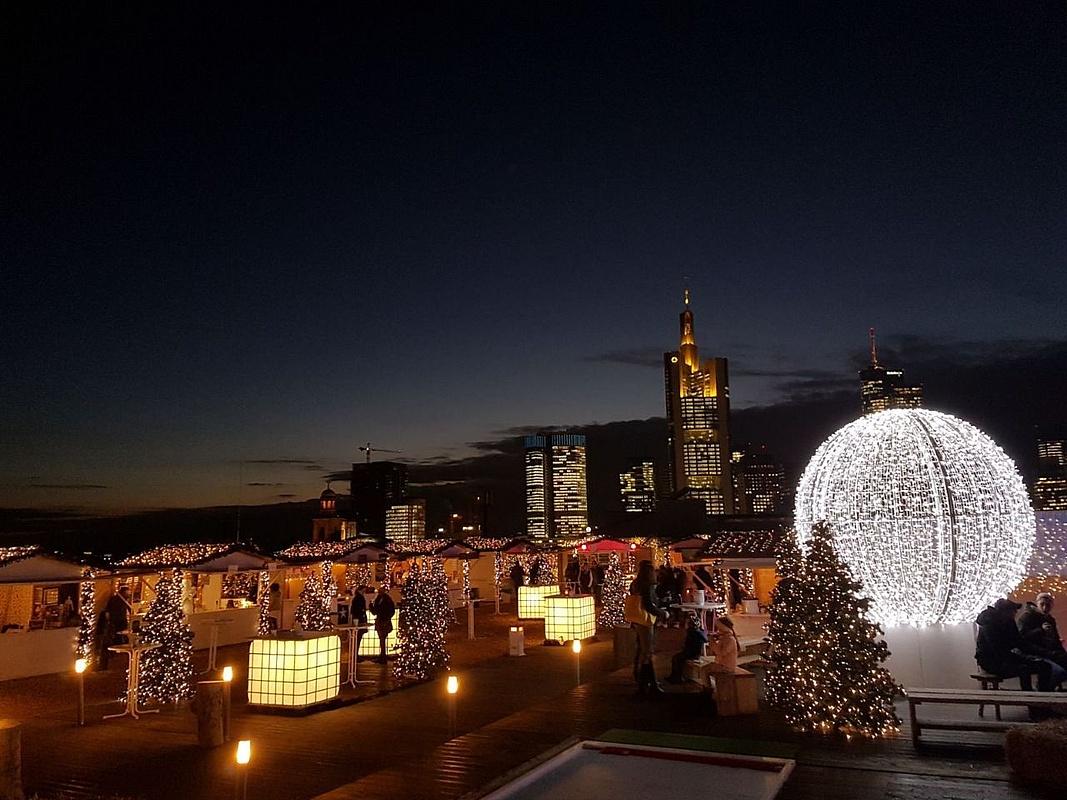 Frankfurt Weihnachtsmarkt öffnungszeiten.Cityxmas 2018 Lädt Zum Hüttenzauber über Den Dächern Frankfurts