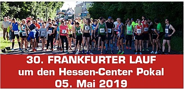 Sportgemeinschaft Enkheim 1887 e.V. invites you to the 30th Frankfurt Run at the Hessen-Center