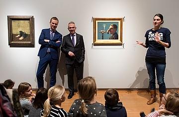 Oberbürgermeister Feldmann eröffnete Schirn-Ausstellung zu René Magritte