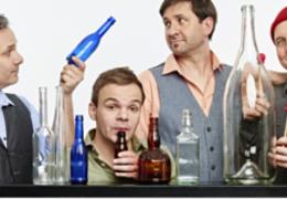 Glasblassing - Süßer die Flaschen nie klingen