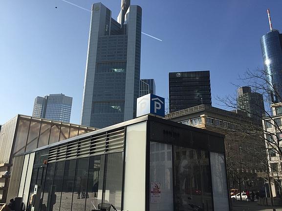 Parken Oper Frankfurt