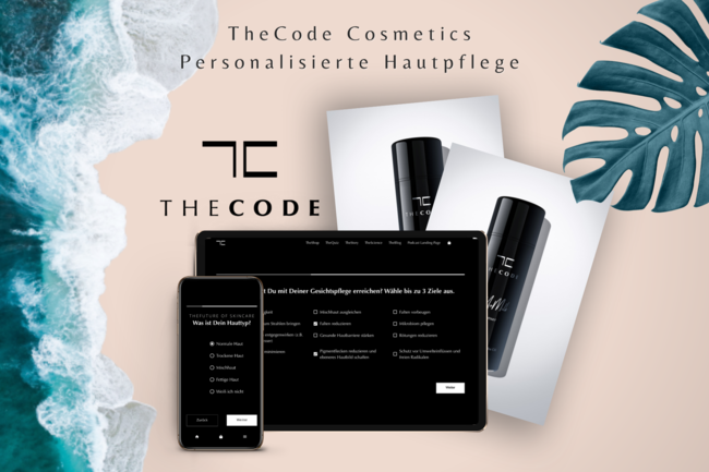 TheCode Cosmetics - personalized facial care