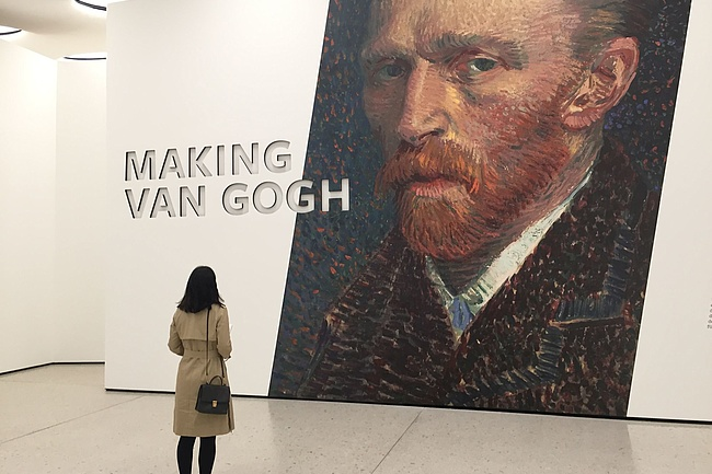 MAKING VAN GOGH ends as the most visited exhibition of the Städel Museum