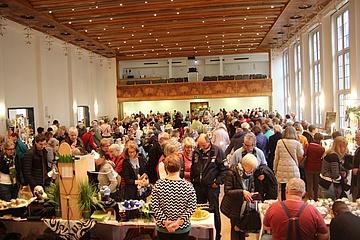 Frankfurter Ostermarkt verzeichnet zum Jubiläum einen Besucherrekord