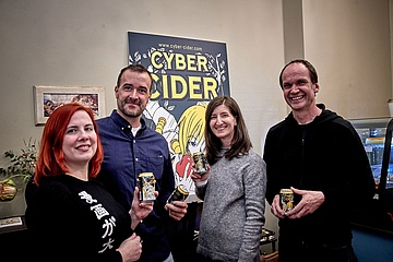 Kelterei HEIL introduces the Cyber Cider