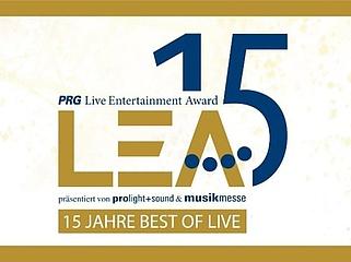 Der Live Entertainment Award (PRG LEA) 2020 ist abgesagt