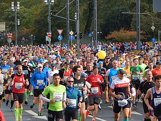 38th edition of the Mainova Frankfurt Marathon