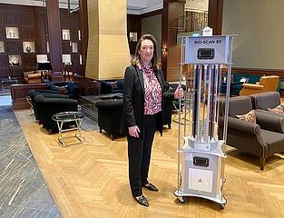 Kempinski Hotel Frankfurt setzt im Kampf gegen SARS-CoV-2 europaweit neue Maßstäbe