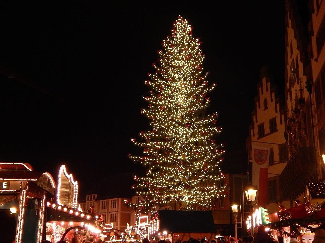 Weihnachtsbaum Frankfurt.Wer Bringt Den Frankfurter Weihnachtsbaum Zum Strahlen