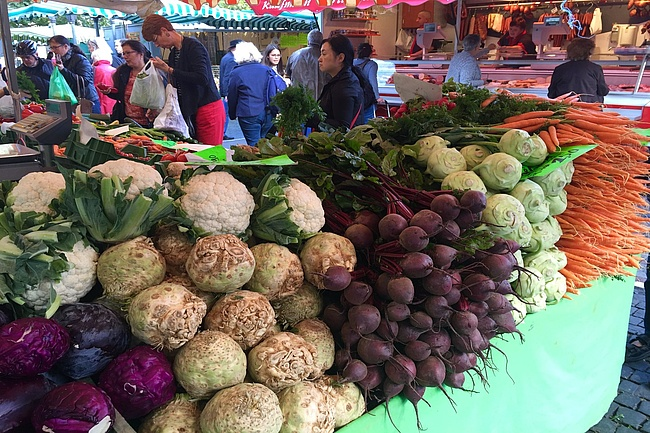 Wochenmärkte in Frankfurt & Rhein-Main