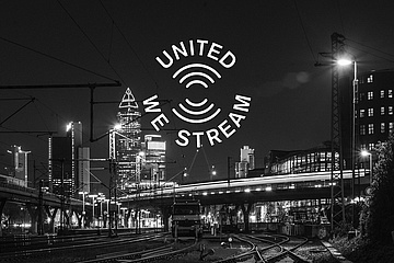 Support for the Frankfurt club scene: 'United We Stream' comes to Frankfurt