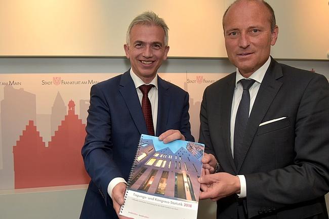 Positive Tagungs- und Kongress-Statistik 2018 für Frankfurt