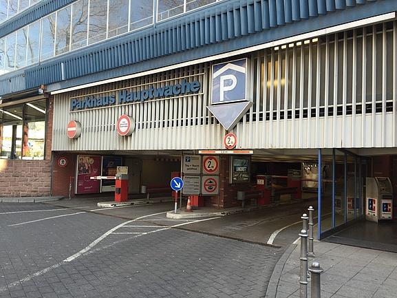 Parken Frankfurt Hauptwache