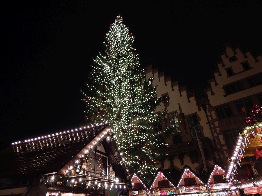Der Weihnachtsbaum.Der Weihnachtsbaum Und Typische Weihnachtssymbole