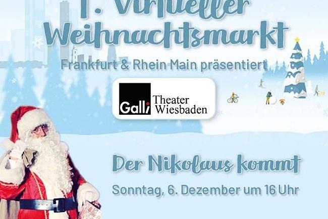 Frankfurt-Tipp startet Rahmenprogramm zum 1. Virtuellen Weihnachtsmarkt Frankfurt & Rhein-Main