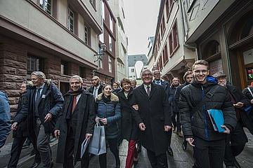 Bundespräsident Steinmeier zu Gast in Frankfurt