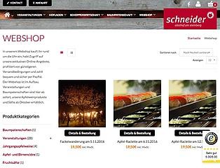Der Obsthof am Steinberg präsentiert seinen neuen Online-Shop