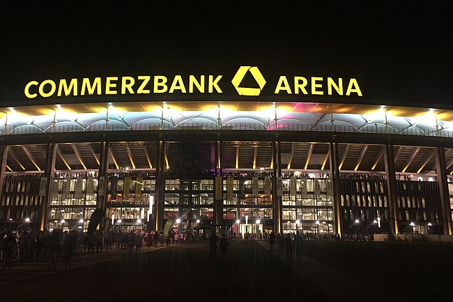 Deutsche Bank Park: From Wednesday the Commerzbank Arena will have a new name