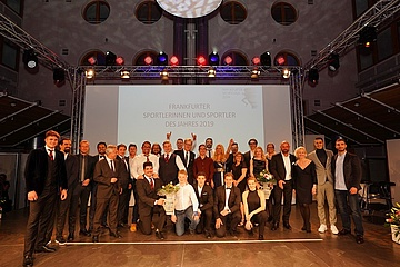Frankfurt athletes awarded at Frankfurt Sports Gala 2019