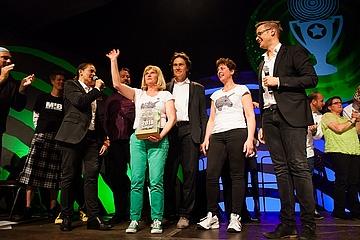 Gasthaus Zum Einhorn in Bonames wins the Green Sauce Festival 2018