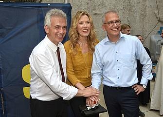Celebration of U5 extension to the Europaviertel
