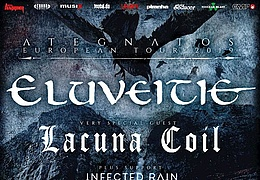 Eluveitie, Lacuna Coil & Infected Rain