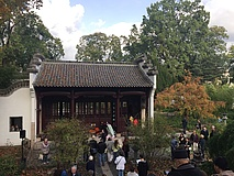 Chinese garden in Bethmannpark ceremoniously reopened