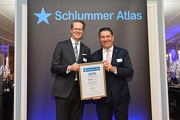 Steigenberger Frankfurter Hof freut sich über Auszeichnung des SCHLUMMER ATLAS