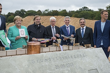 Milestone for major project: Foundation stone laid for new DFB in Frankfurt