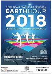 Steigenberger Frankfurter Hof und das Energiereferat laden zur Earth Hour Party 2018 ein