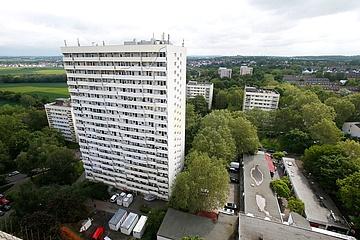 The high-rise housing estate Frankfurter Berg celebrates its 50th birthday
